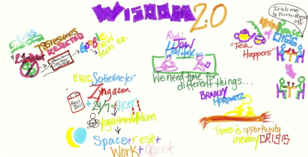Mixing Wisdom 2.0 with The Doodle Revolution