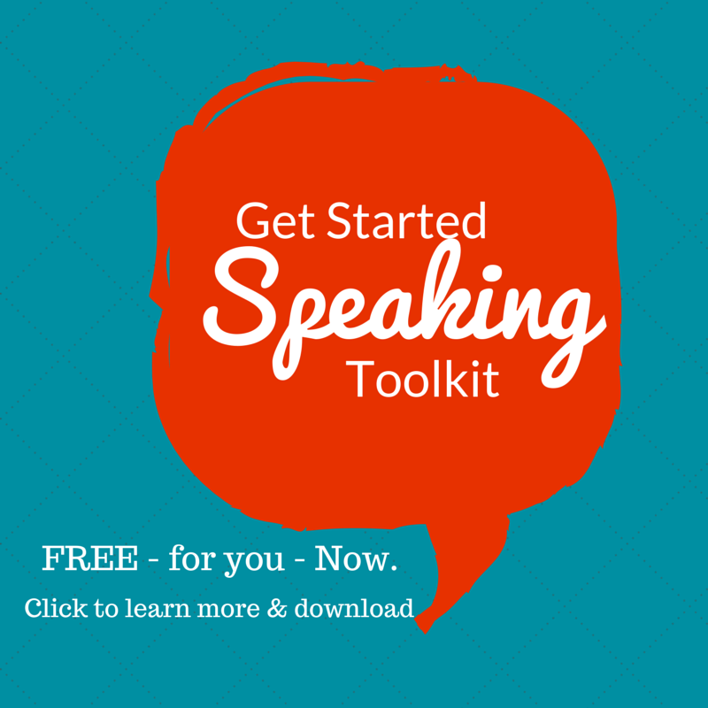 Get Started Speaking Toolkit