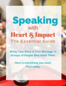 Speaking with Heart Impact ebook cover